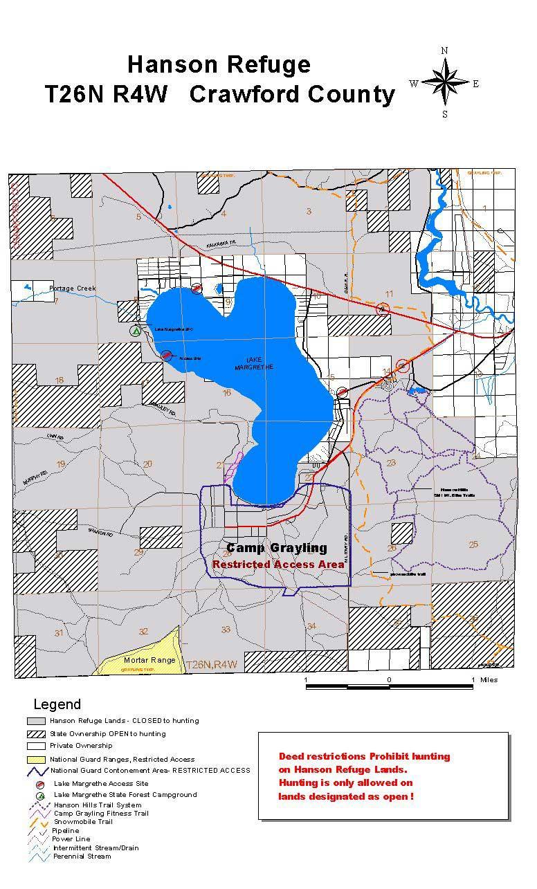 Michigan trail maps hartwick pines aspen trail publicscrutiny Image collections